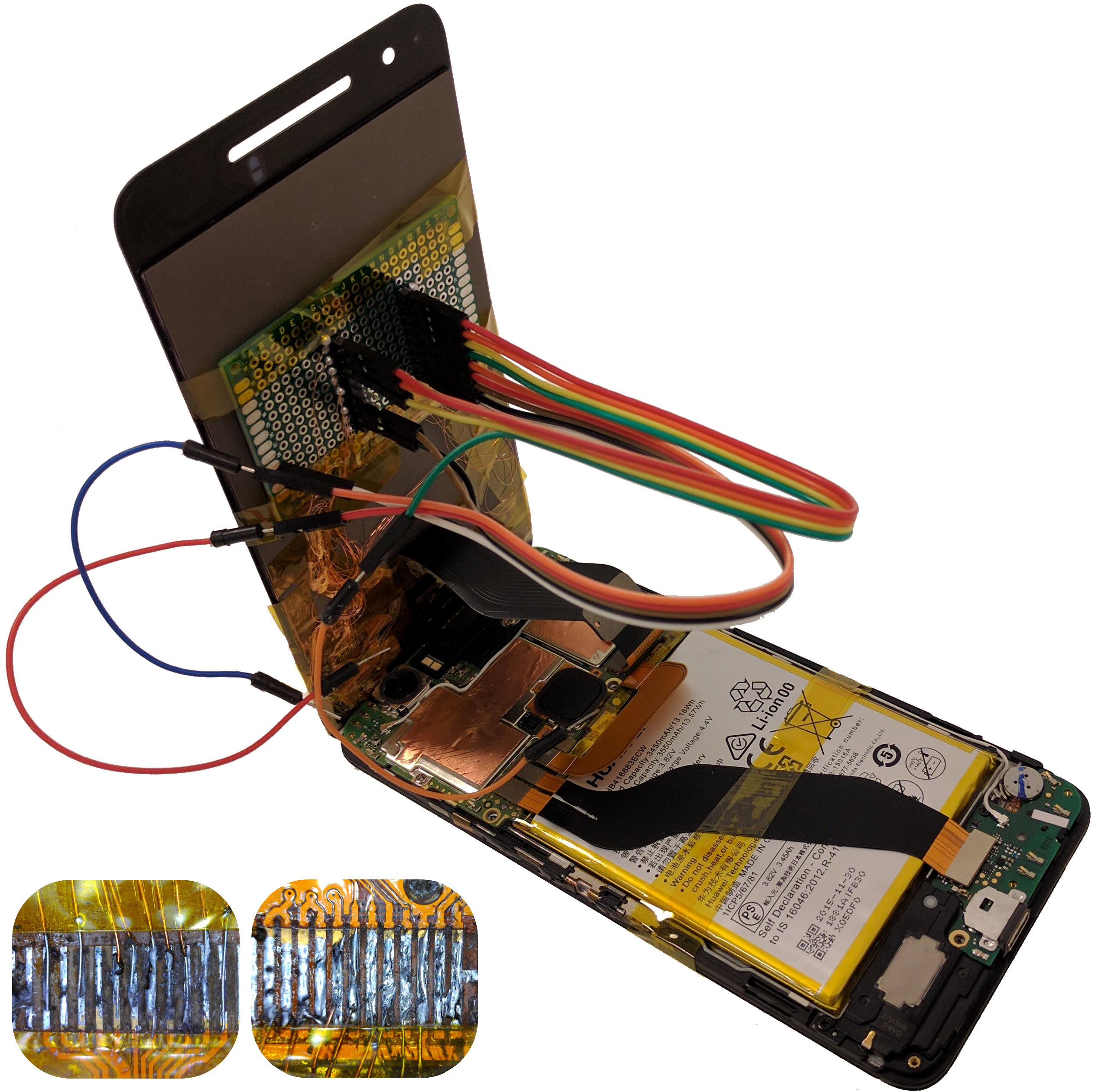 Figure for From Smashed Screens to Smashed Stacks: Attacking Mobile Phones Using Malicious Aftermarket Parts